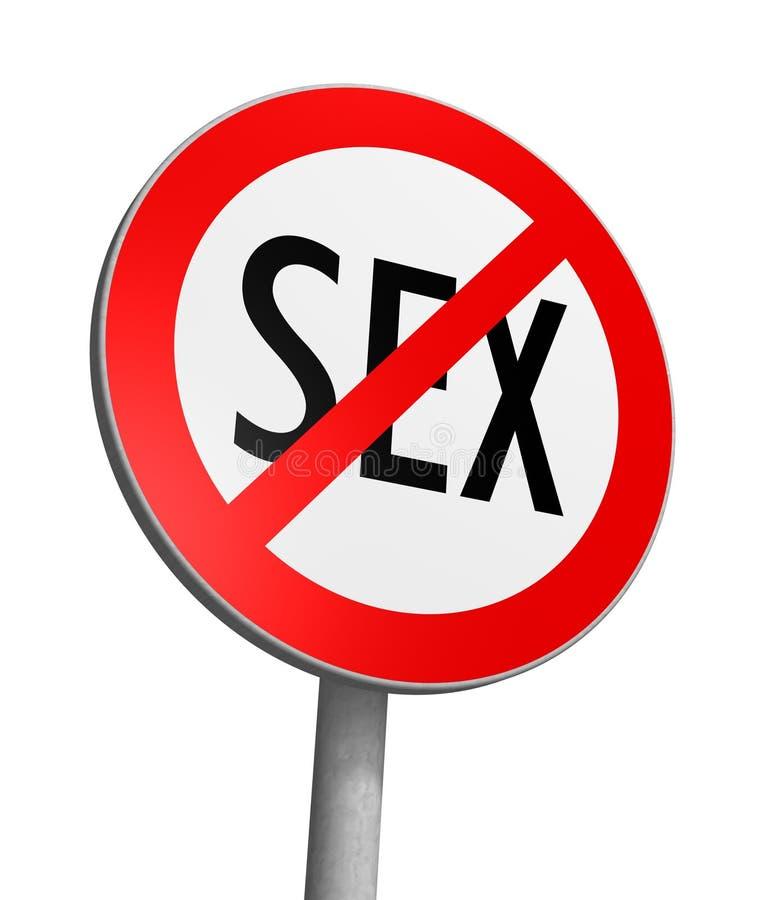 Zona franca del sexo ilustración del vector