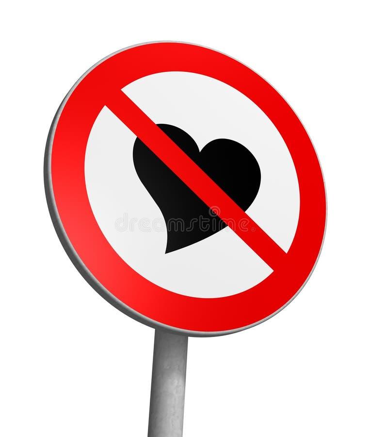 Zona franca do amor ilustração do vetor