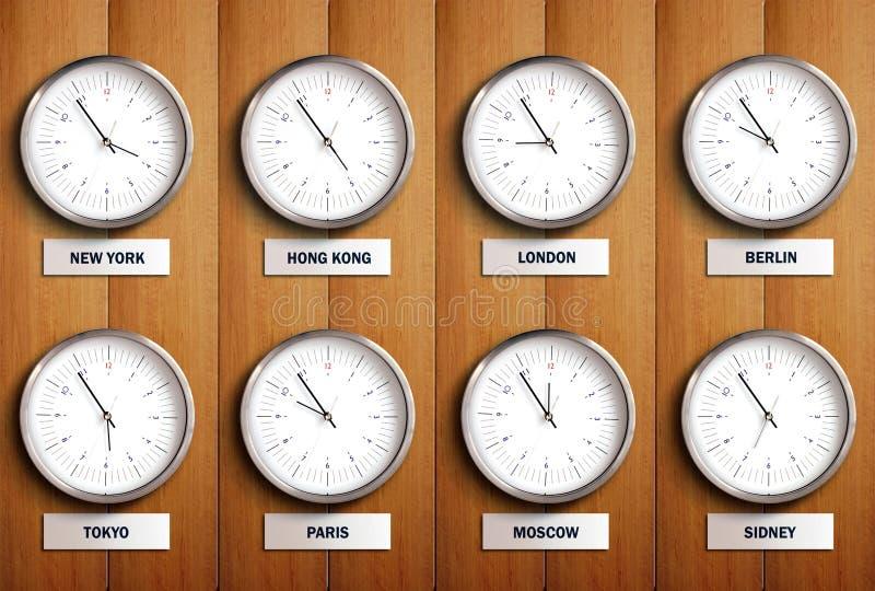 Zona horaria foto de archivo libre de regalías