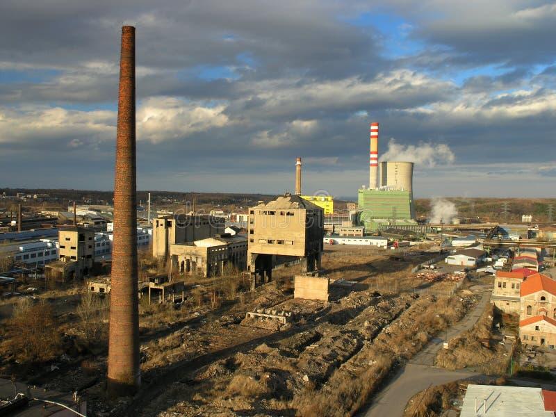 Zona industrial fotos de archivo