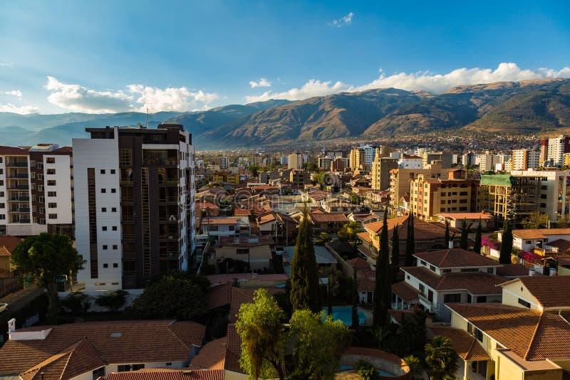 Zona Norte Cochabamba fotos de archivo