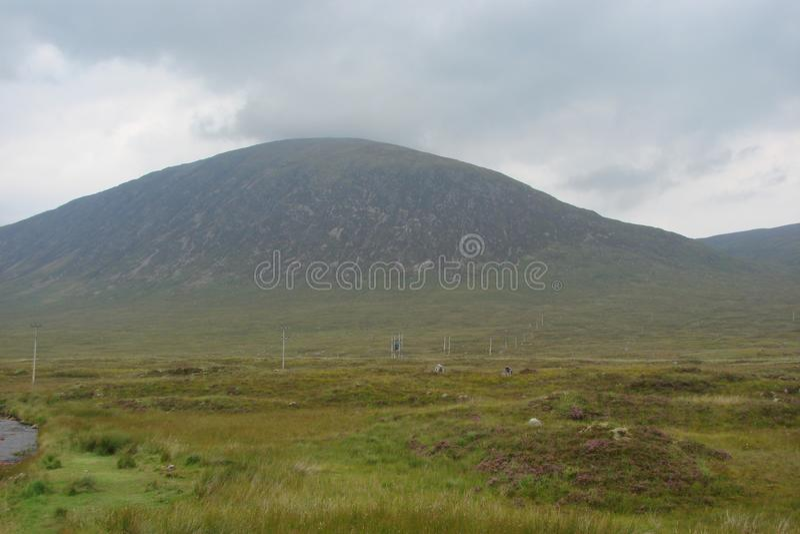 Zona oriental de Escócia Paisagens da natureza escocesa selvagem imagem de stock royalty free