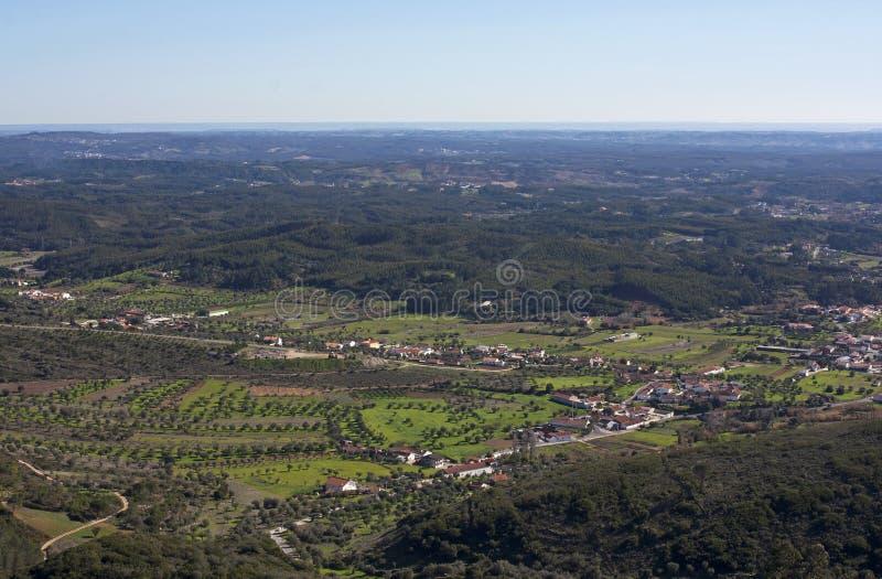 Zona rural del ââRio Maior imágenes de archivo libres de regalías