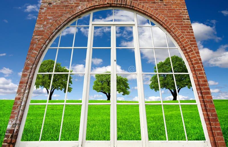 Zona verde imagen de archivo