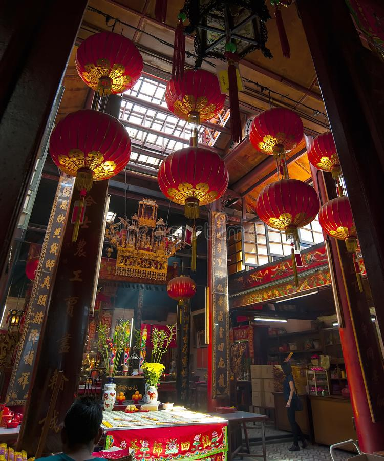 Zonde Sze Si Ya Temple royalty-vrije stock foto's