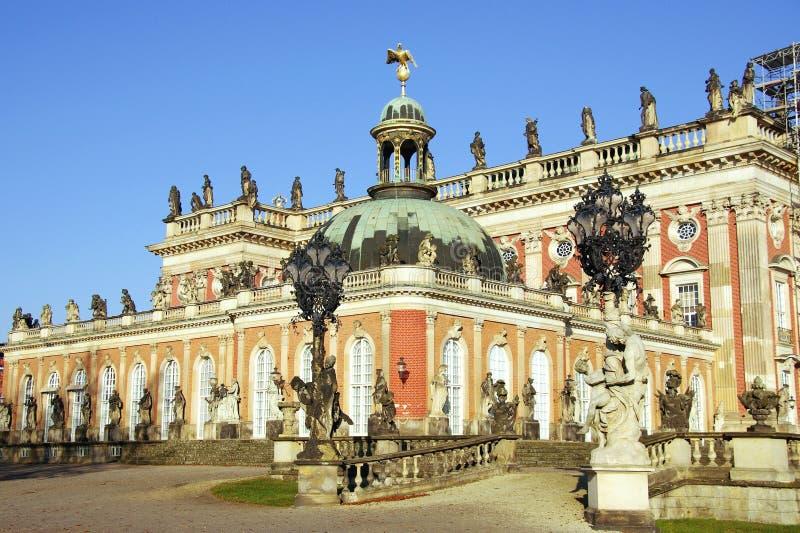 Zonder souci in Potsdam stock afbeeldingen