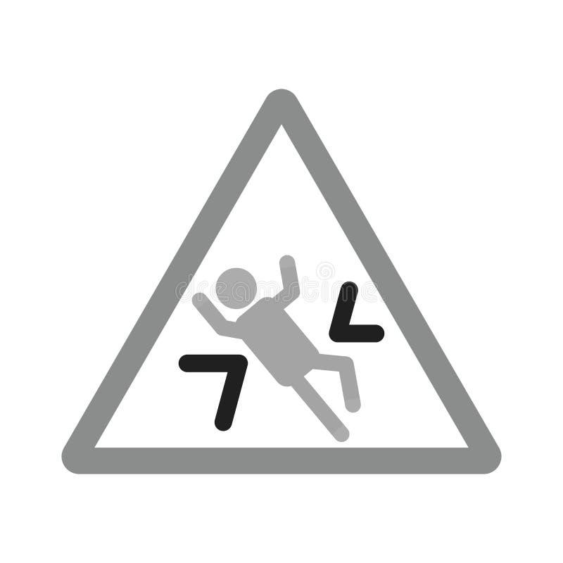 Zone d'écrasement illustration de vecteur