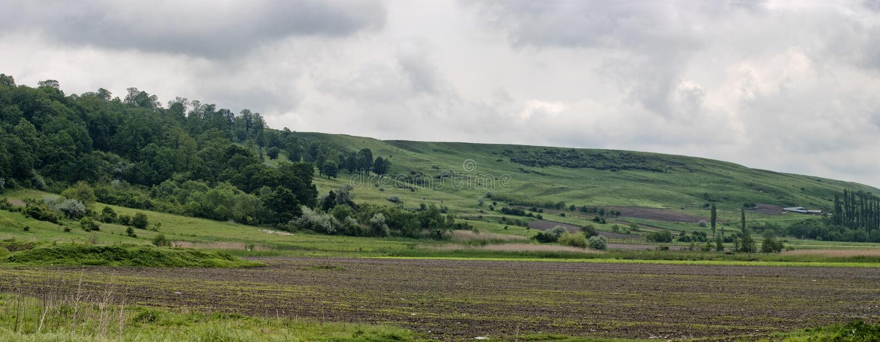 Zone d'agriculture - panorama images libres de droits