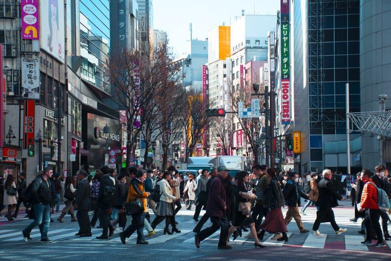 Zone d'atelier de Harajuku de point de repère de ville de Tokyo photographie stock libre de droits