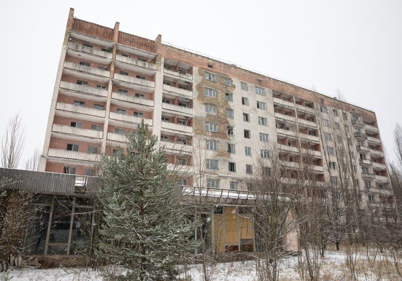 Zone d'exclusion de Chernobyl image stock