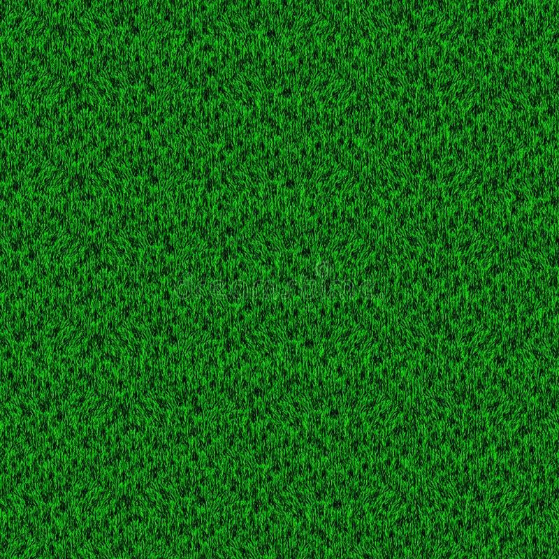 Zone d'herbe verte illustration libre de droits
