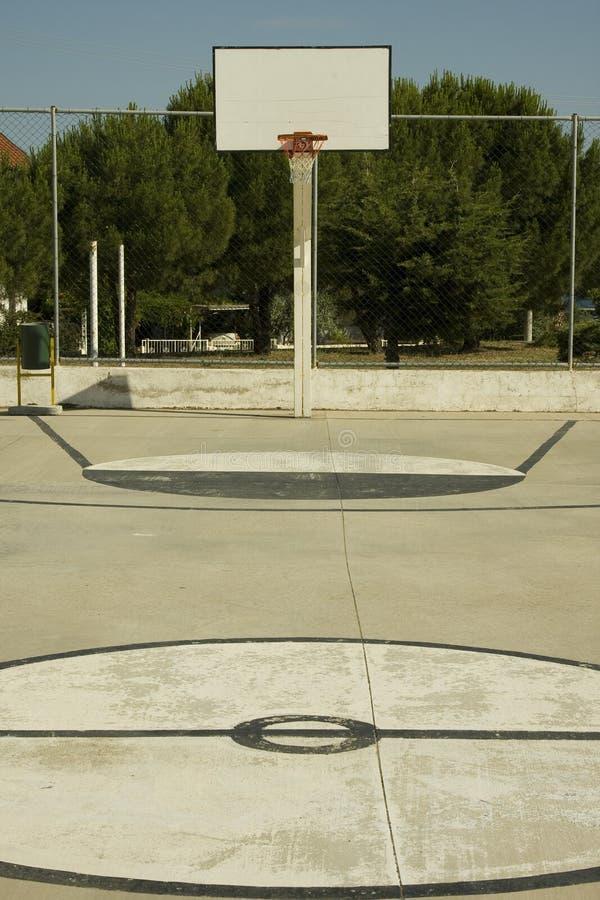Zone de basket-ball photo stock