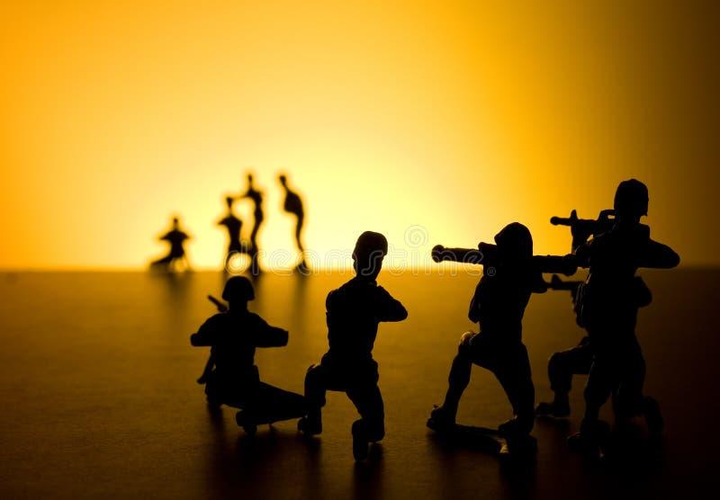 Zone de bataille photographie stock libre de droits