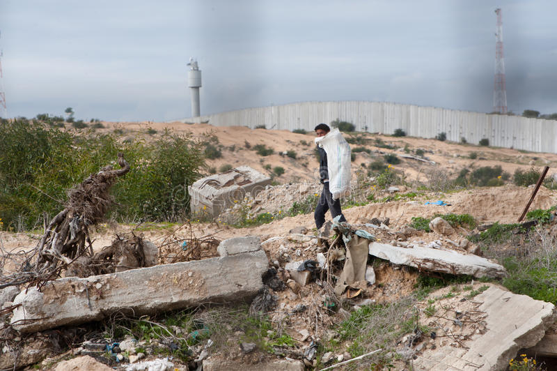 Zone de cadre de Gaza photo stock