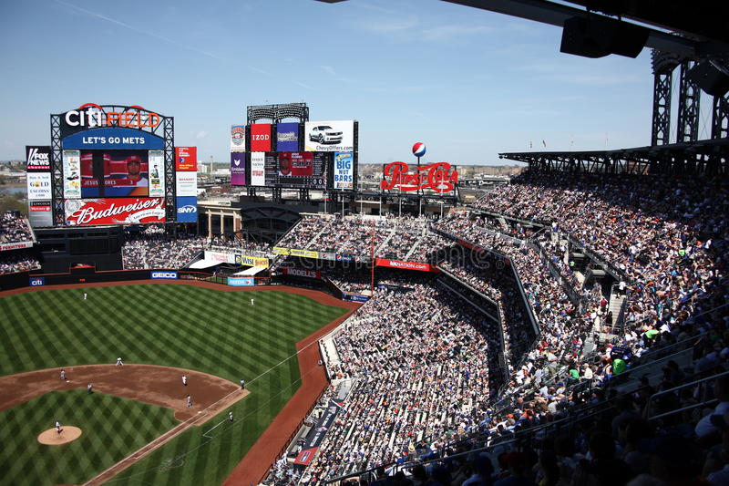Zone de Citi - New York Mets photo stock