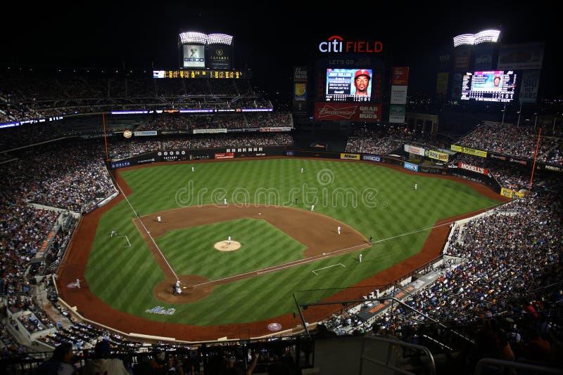 Zone de Citi - New York Mets photo libre de droits