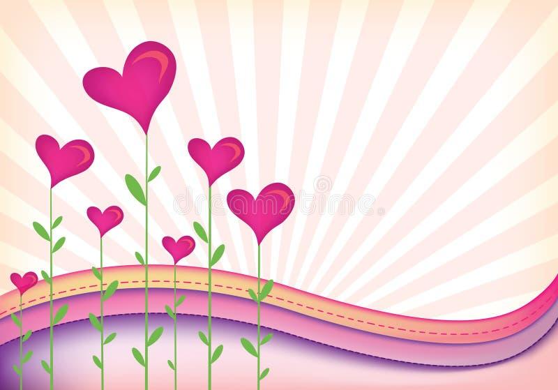 Zone de coeur illustration de vecteur
