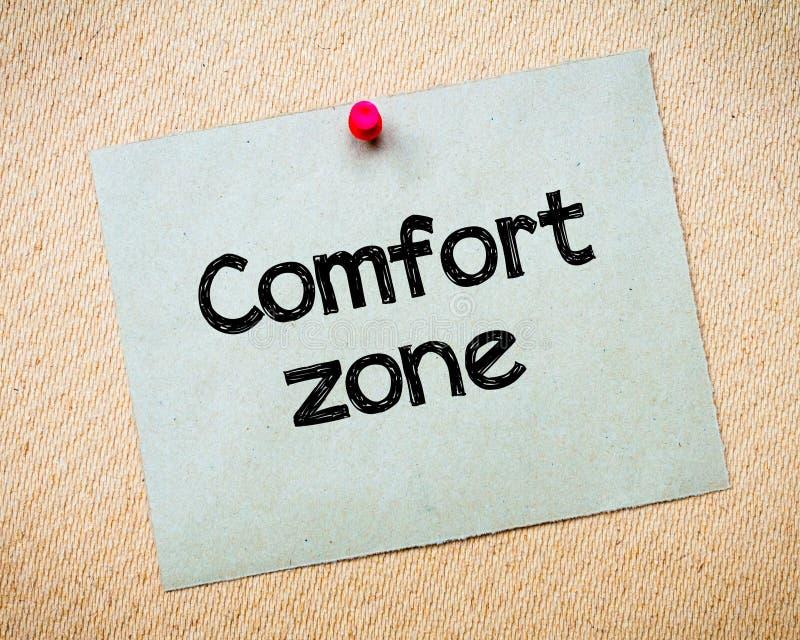 Zone de confort image stock