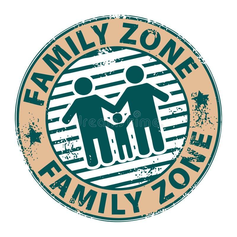 Zone de famille illustration libre de droits