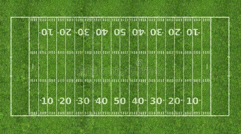 Zone de football américain images stock