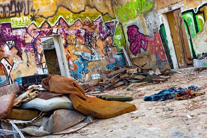 Zone de guerre urbaine images libres de droits
