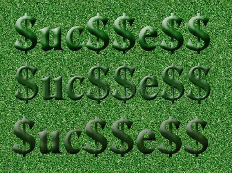 Zone de la réussite (initiale) illustration de vecteur