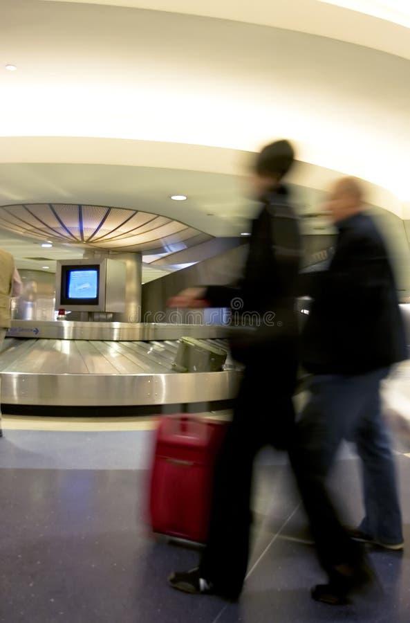 Zone de réclamation de bagage image stock