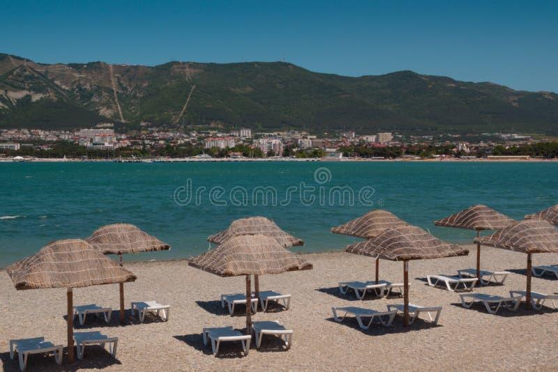 Zone de salon de plage photos libres de droits