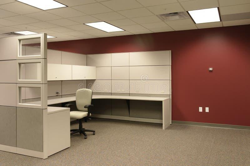 Zone de travail cubique de bureau photos libres de droits
