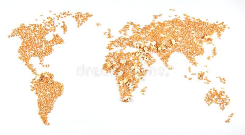 Zone di conflitto (cereale che esplode) fotografie stock