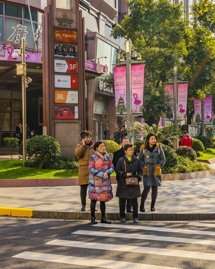 Zone française de concession de Changhaï image stock