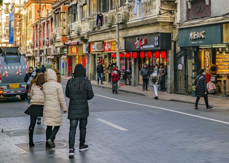 Zone française de concession de Changhaï photos libres de droits