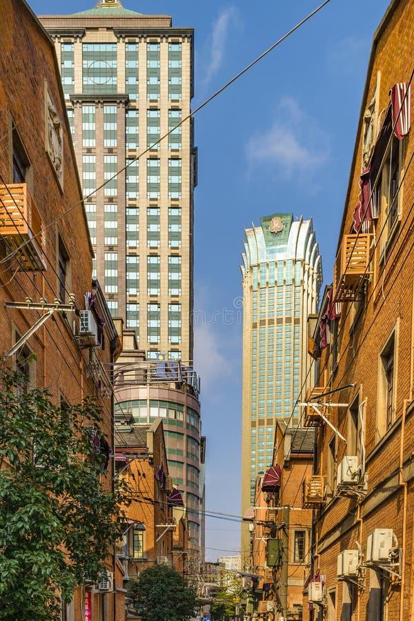 Zone française de concession de Changhaï photo libre de droits