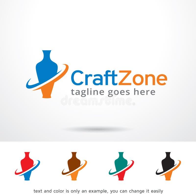 Zone Logo Template Design Vector de métier illustration stock