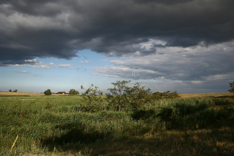 Zone nuageuse 2 images libres de droits