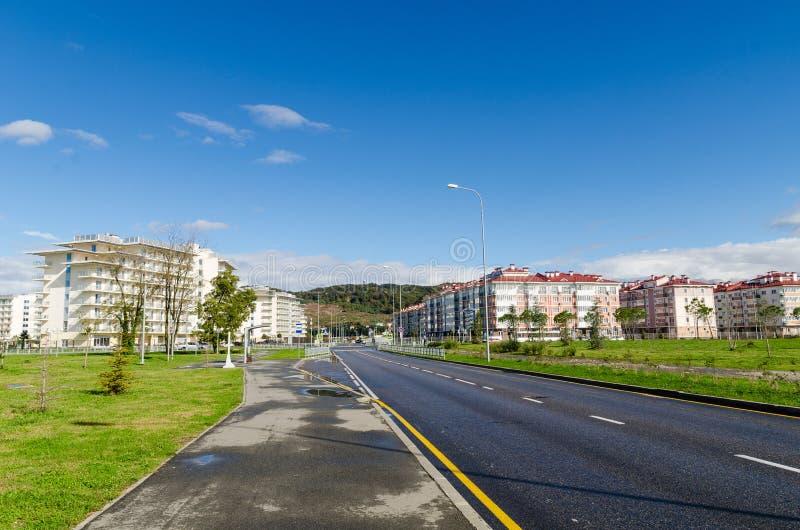 Zone residenziali moderne immagine stock libera da diritti