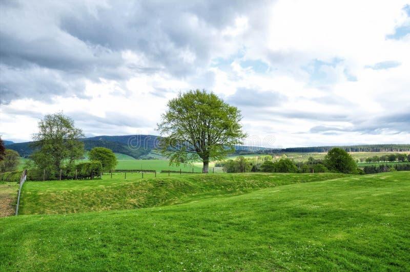 Zone rurale en Ecosse image libre de droits