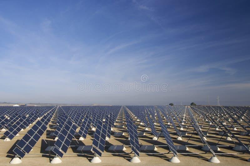 Zone solaire photo libre de droits