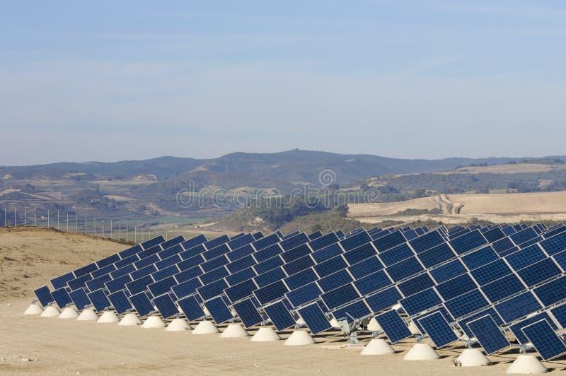 Zone solaire photographie stock libre de droits