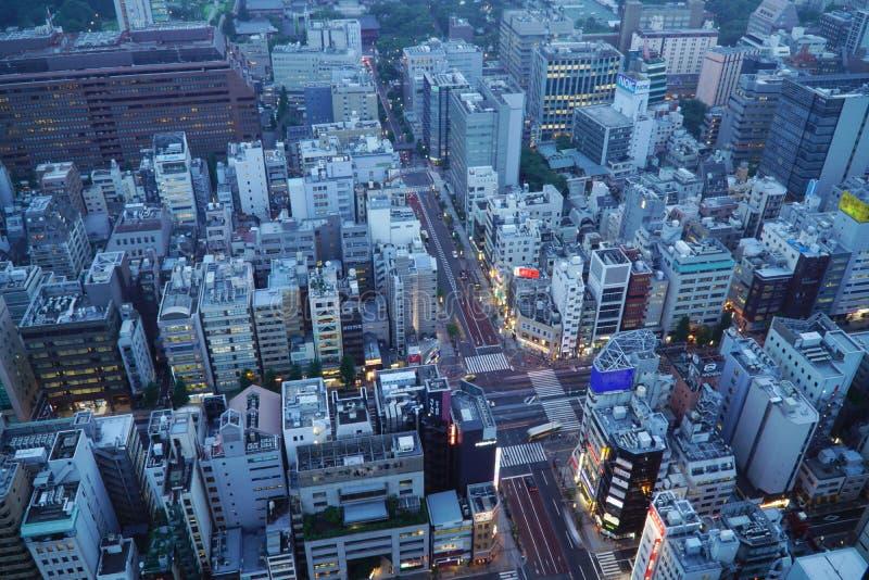 Zone urbaine de Tokyo photos stock