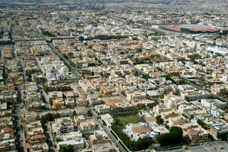 Population de l'Arabie Saoudite photos stock