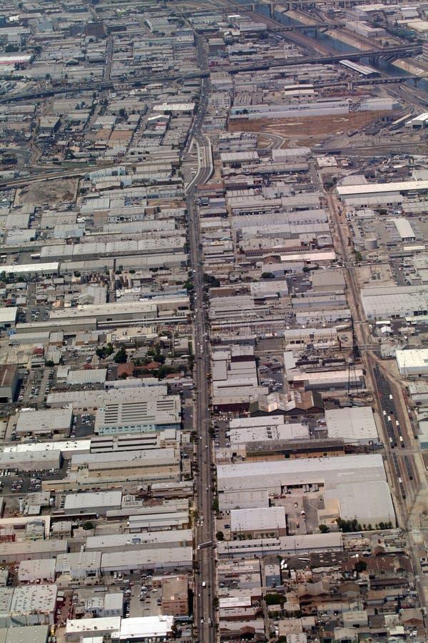 Zones industrielles photo libre de droits