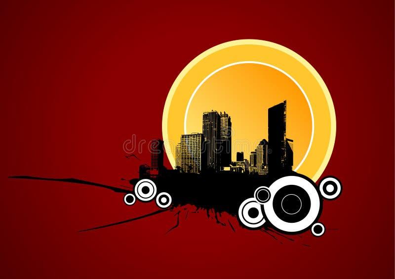 Zones urbaines. Art de vecteur illustration libre de droits