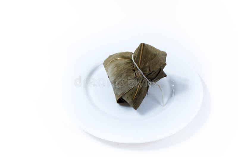 Zongzi eller klimp för klibbiga ris fotografering för bildbyråer
