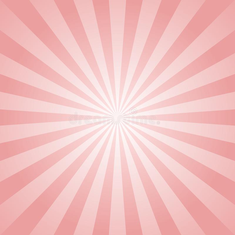 Zonlicht abstracte achtergrond De roze achtergrond van de kleurenuitbarsting royalty-vrije illustratie
