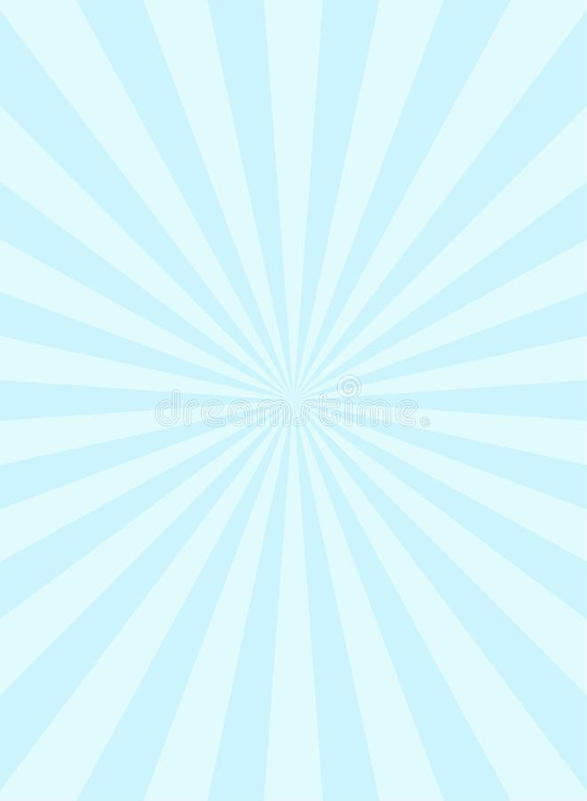 Zonlicht smalle verticale abstracte achtergrond De uitbarstingsachtergrond van de poeder blauwe en witte kleur royalty-vrije illustratie