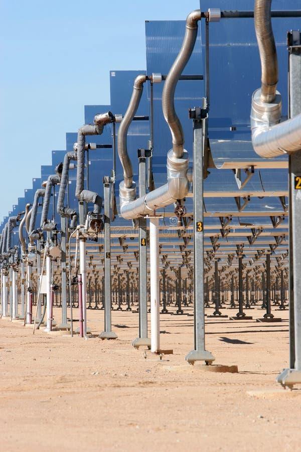 Zonne-energiepanelen stock afbeelding