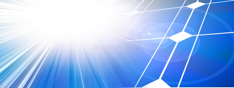 Zonne machtscellen vector illustratie
