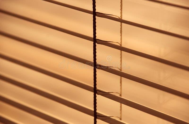 Zonneblinden 2 Stock Foto
