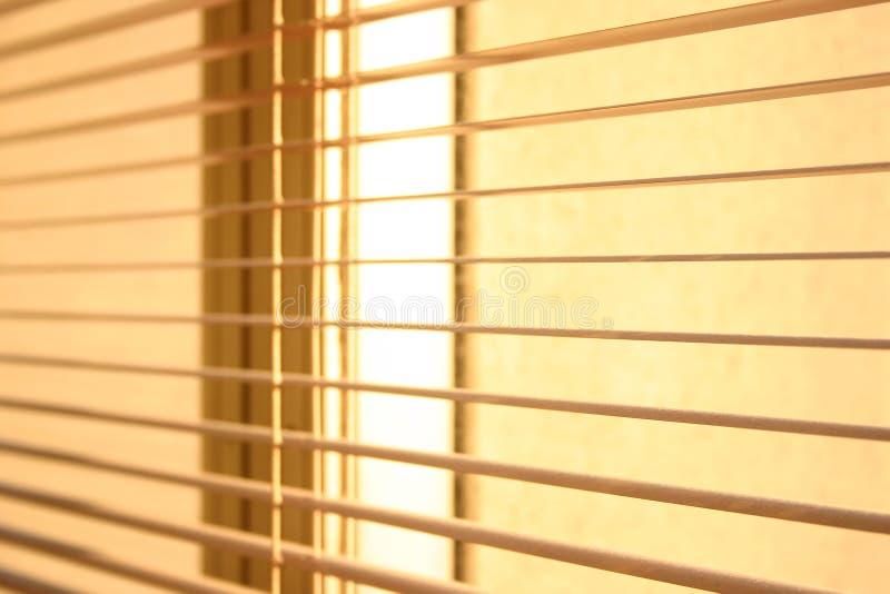 Zonneblinden stock fotografie